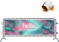 OUTDOOR EYELETTED PVC BANNER E109606