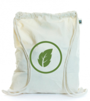 5oz Eco Natural Cotton Drawstring Bag