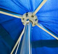 2m Square Aluminium Parasol - British Made