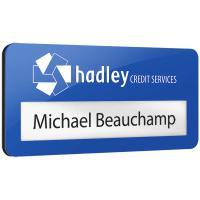 Reusable Metal Faced Window Badges - British Made