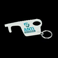 Antimicrobial Hygiene Hook Keyring - British Made