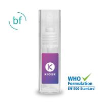 Hand Sanitiser 10ml Rectangular Atomiser with Label