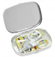 SEWING KIT WITH MIRROR - LADY