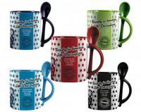 Duraglaze ® 11oz Soup & Spoon Two Tone PhotoMug