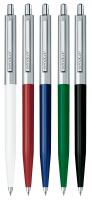 SENATOR POINT METAL BALL PEN in White.