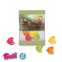 Jelly Gums Mini Bag 15 g, standard shapes  Euro symbol, transparent