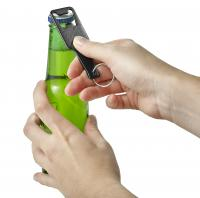 Aluminium bottle opener