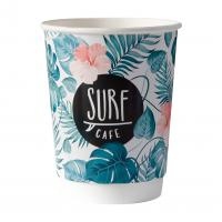 Thermal wall paper cup, 12oz/380ml