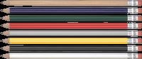 Eco - FSC Wooden Pencil (Line Colour Print)