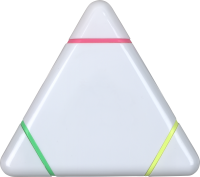 Triangular Highlighter (Full Colour Print)