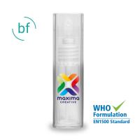 30ml Hand Sanitiser (Alcohol Free) Aluminimum Spray (Pad Print)