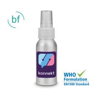 50ml Hand Sanitiser (Alcohol Free) Aluminimum Spray (Spot Colour Print)