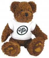 CHARLIE BEAR WITH WHITE T-SHIRT 10 inch  E1115309