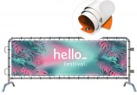 OUTDOOR EYELETTED PVC BANNER E119001