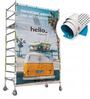 OUTDOOR EYELETTED MESH BANNER  E119002