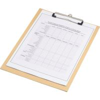 A4 cardboard clipboard