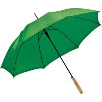 Automatic walking-stick umbrella