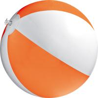 Bicoloured beach ball
