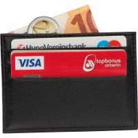 Leather RFID credit card case