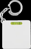 Spirit Level Tape Measure Key Ring (Full Colour Print)