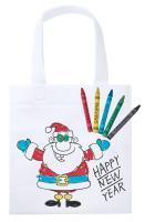 colouring shopping bag
