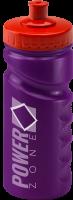 500ml Finger Grip Sports Bottle Purple