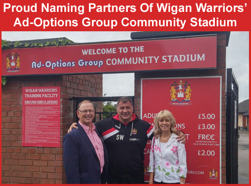 Naming Partners - The Ad-Options Group Community Stadium